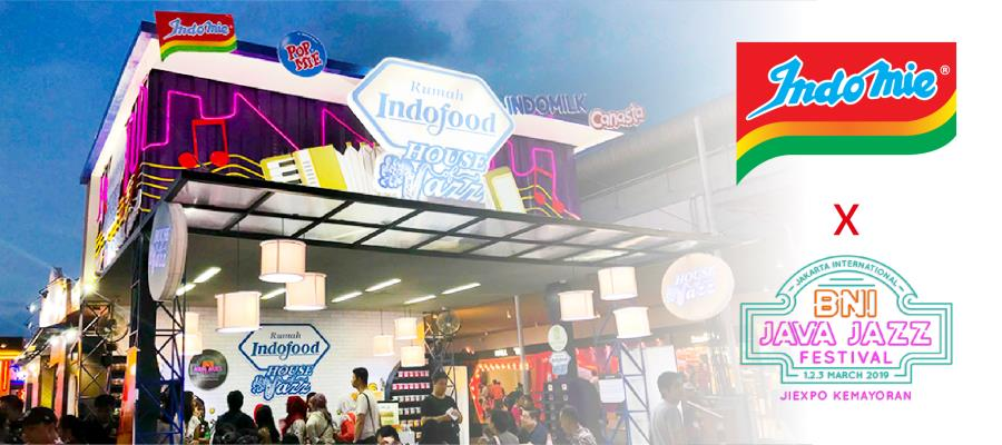 Rumah Indofood 'House of Jazz' at 2019 Java Jazz Festival