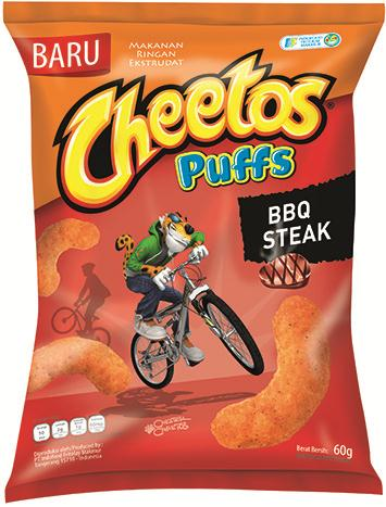 Cheetos Puffs BBQ Steak Flavor